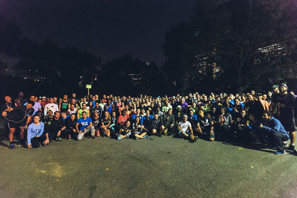 Nike Home Run im Central Park am 04.11.2015