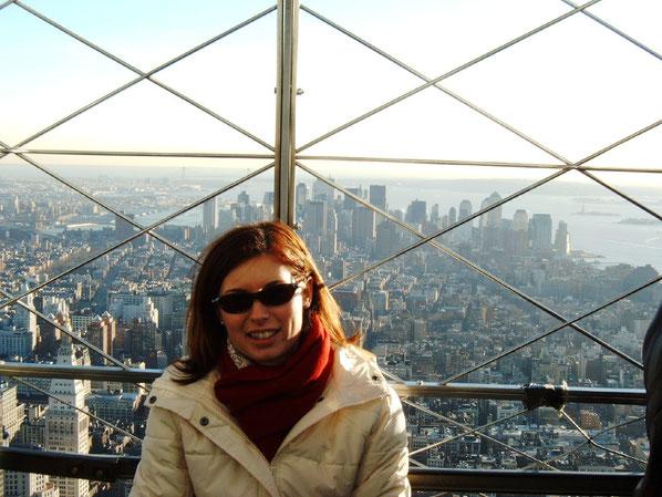 Da die Zwillingstürme kurz vorher eingestürzt waren, mussten wir 2004 mit dem Empire State Building vorlieb nehmen.