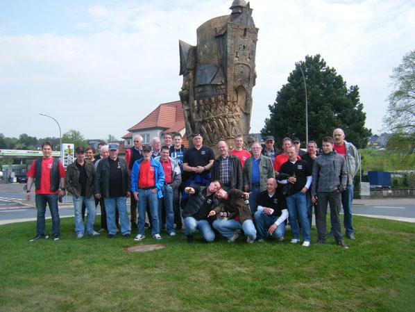 Mai-Schnatgang 2012 / Bronzeskulptur