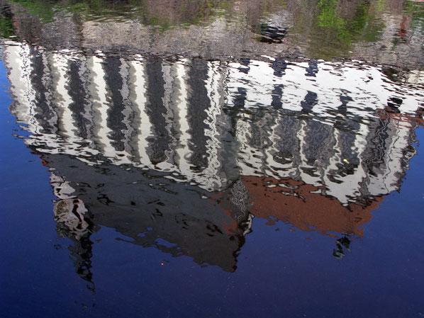 Cesky Krumlov Reflections 2. Photograph copyright by Graham Howard (c) 2014