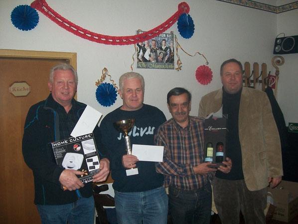 Die stolzen Sieger mit Stadtparteiobmann Mogeritsch