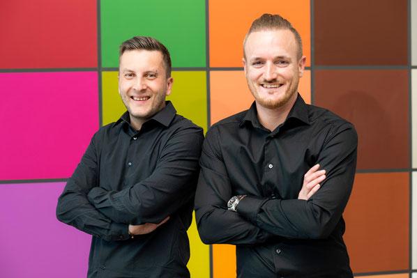 Bent Nielsen (links) und Michel Zaugg (rechts)