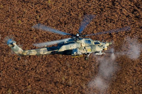 Un elicottero d'attacco Mil Mi-28. (Foto: Russian Helicoper)