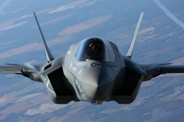 Lokheed Martin F-35 Lightning II. (Foto: Lockheed Martin)