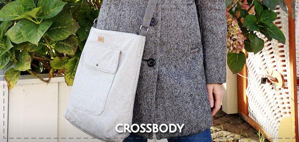Julia Design handmade Tasche Handtasche Umhängetasche crossbody Stofftasche wasserabweisend Marie