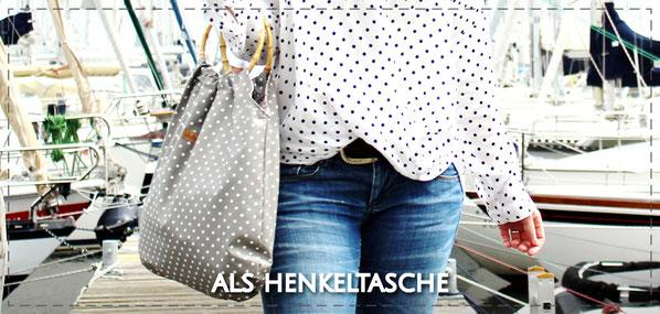 Julia Design handmade Tasche Henkeltasche Stofftasche wasserabweisend Adele