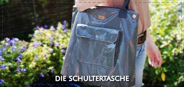 Tasche Shopper Schultertasche Jule Julia Design handmade