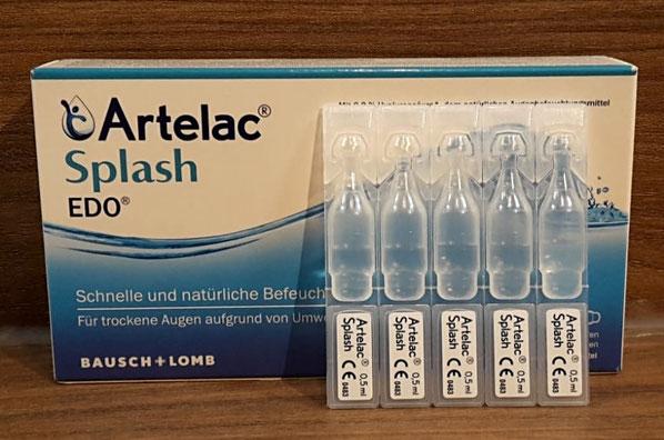 Artelac Splash Augentropfen in der EDO Variante (30 x 0,5ml)