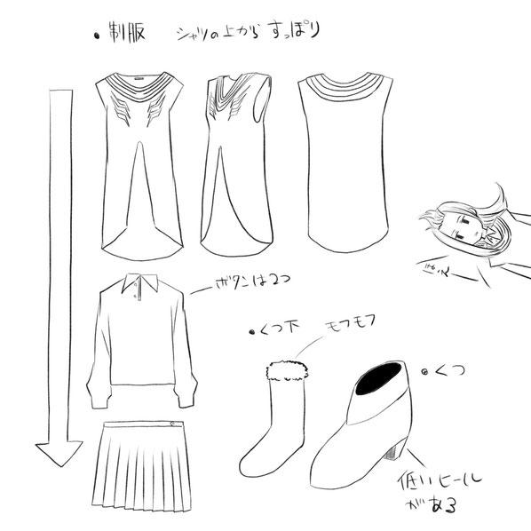 りゅうが衣装設定