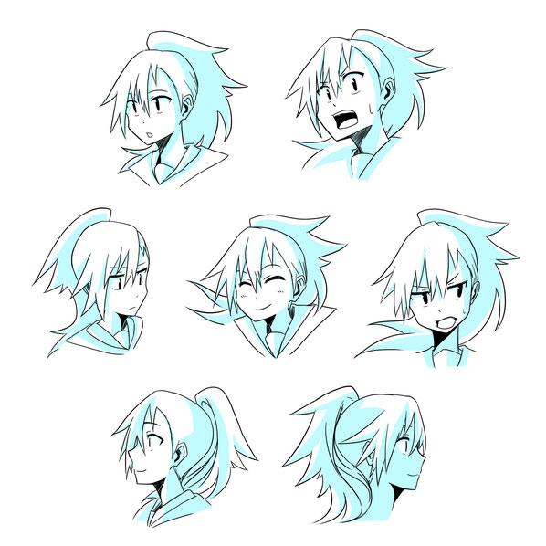 しなり表情集