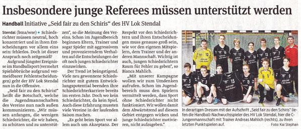 Stendaler Volksstimme vom 11.04.2013
