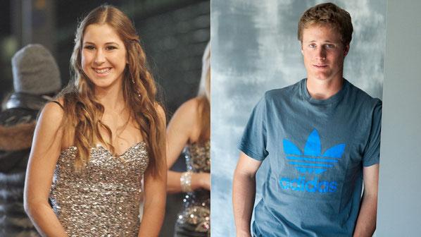 Belinda Bencic und Nils Mani sind die Gewinner des Nachwuchspreises 2013 der Schweizer Sporthilfe