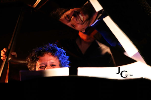 Thoms Bercy au piano - Jam session swing - Comptoir du jazz à Bordeaux - Photo:© JC Art View