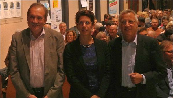 In den Vorstand wurden gewählt : Heidi Hehl, Roland Gärtner und Wolfgang Wörner