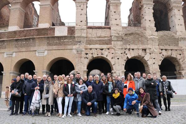 Philips Dictation maakt een ronde over de wereld en op 30 januari waren wij aan de beurt om het nieuws in Rome te horen.