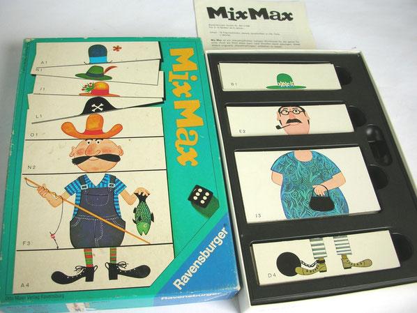 Der Spielklassiker «MixMax» aus den 1970er-Jahren dient als Ideenlieferant.