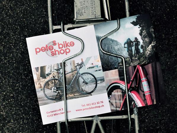 Hat nach wie vor seine Berechtigung: der gute, «alte» Flyer, verteilt in der Nachbarschaft.