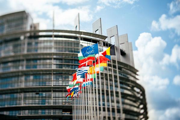 In der Europäischen Union wird in 24 Amtssprachen kommuniziert. Deutsch ist eine davon.