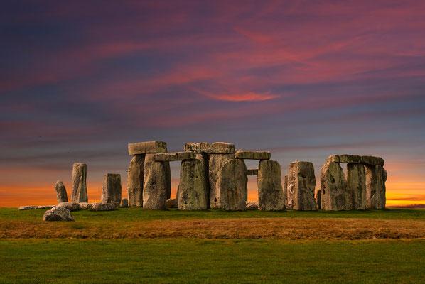 Stehen unverwüstlich und stolz da und sind damit Vorbild für Wertvorstellungen: Stonehenge.