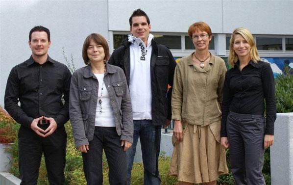 Marco Rieder, Marcelle Detzel, Daniel Jacob, Marianne Ochsenreither und Daniela Micek