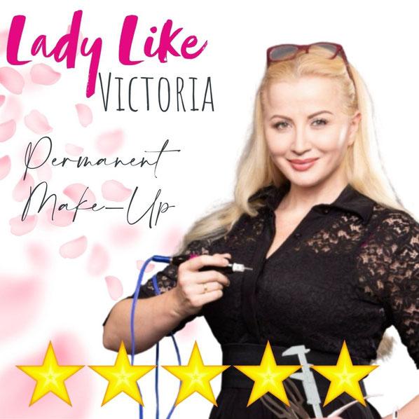 Wer ist Victoria? Permanent Make-up und Microblading NRW