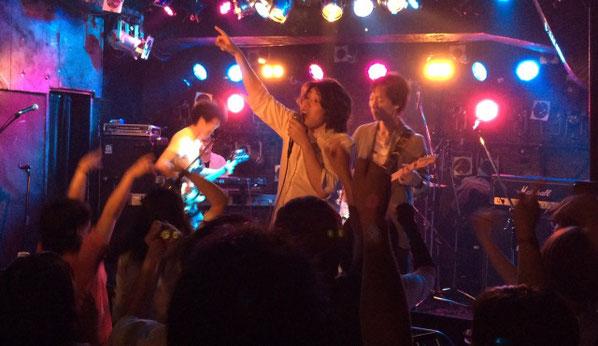 吉祥寺ライブハウス「Planet K」で初ワンマンライブを開催したツキミタイヨウ