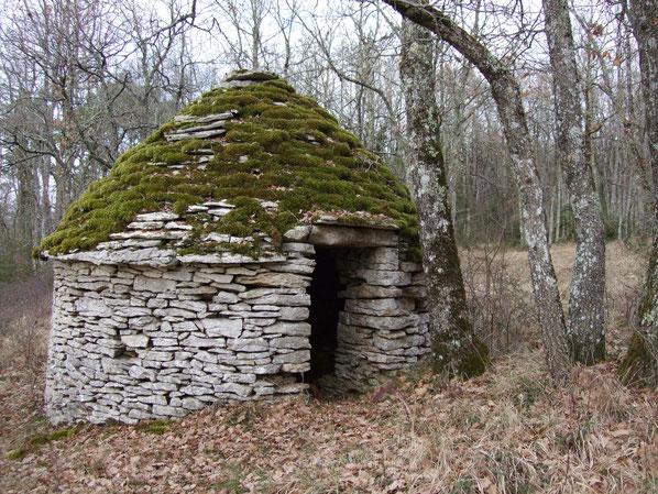 borie, abri bâtit en pierres sèches