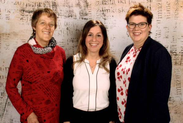 v.l.n.r. Gabriele Günzel, Alexandra Billstein und Mareike Arneke