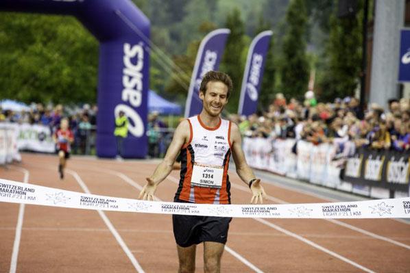 Simon Schüppi auf Platz 1