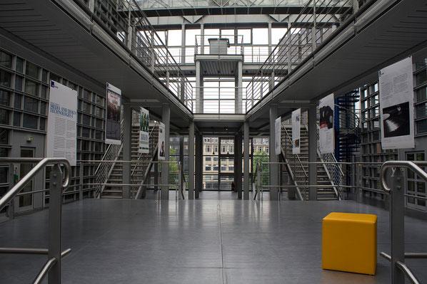Einblick in das Gebäude der Hochschule Macromedia, university of applied science
