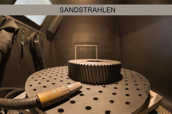 Sandstrahlen