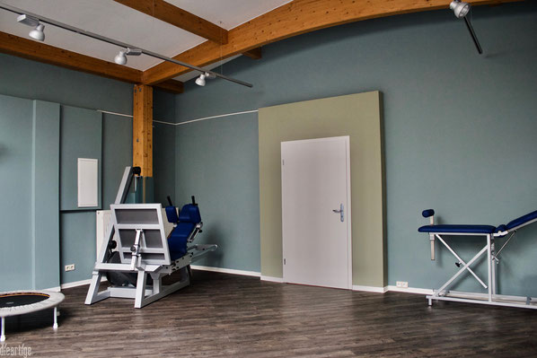 dieartige - Physiopraxis, Sportraum, Farrow & Ball Farben
