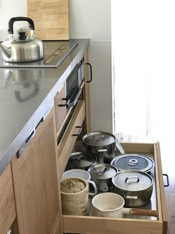 造作キッチン オーダーキッチン キッチン引出し収納