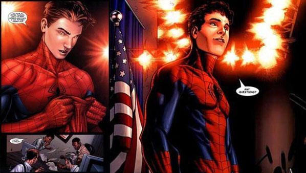 Algo que jamás pensamos que veríamos, Peter Parker se quita la máscara ante los medios