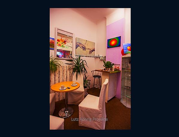 Der BestHandmadeShop am Tempelhofer Damm. Gemütliche Kaffeeecke
