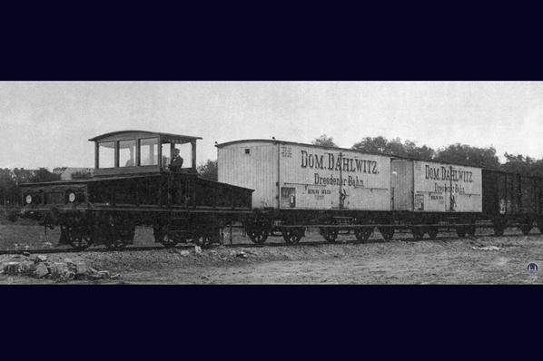 Güterbahn des Gutshofes Schloss Dahlewitz