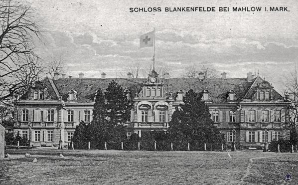 Das Schloss Blankenfelde.