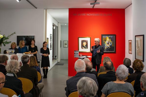 Bruno Taut. Präsentation in der Salongalerie Möwe. Vortrag Uli Hellweg.