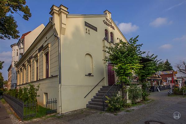 Alter Gutshof Freiberg, Alt-Mariendorf in Berlin. Eingangsbereich des Gebäudes.