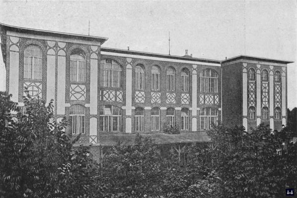Die Kuranstalt Berolinum an der Lankwitzer Leonorenstraße. Das ehem. Kommunal - Krankenhaus nach der Eröffnung.