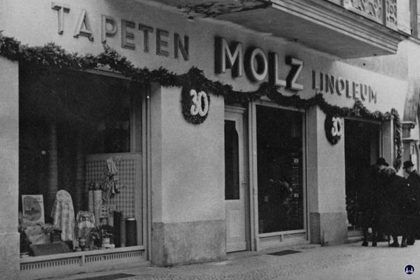 Molz Raumdesign am Mariendorfer Damm. J30jähriges Jubiläum 1951.