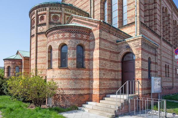 Apsiden der St. Matthäuskirche.