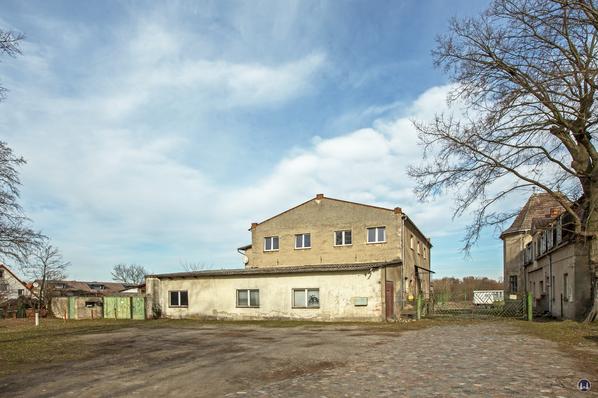 Historischer Gutshof Schloss Dahlewitz. Ehemalige Brennerei.