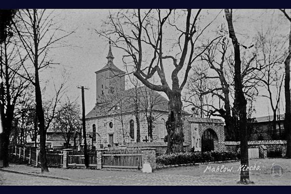 Mahlower Dorfkirche.