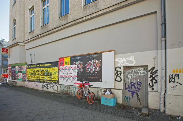 Ansicht Straßenseite Hagelberger Straße.