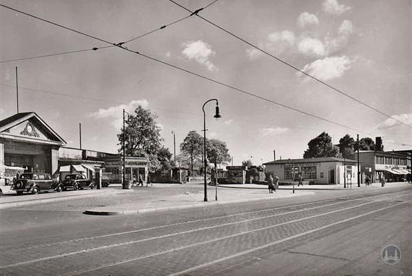 Stellwerk Lio in Berlin Lichterfelde - Ost. Ansicht des alten Güterbahnhof.