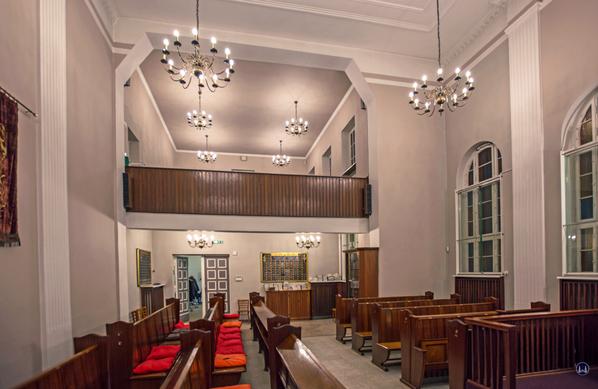 Blick in den Gebetssaal.