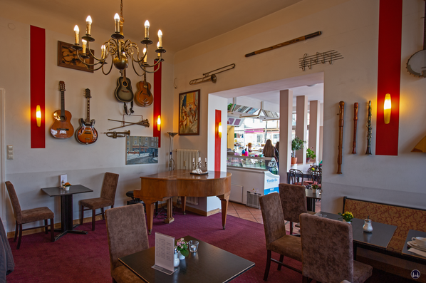Pianocafé am Lietzensee. Das Musikzimmer.