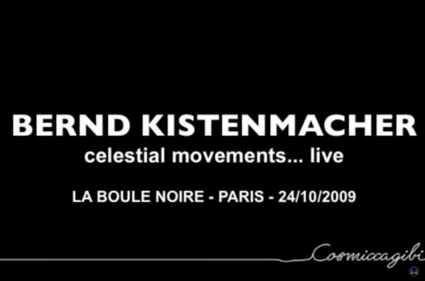 Bernd Kistenmacher im Konzert in Paris.