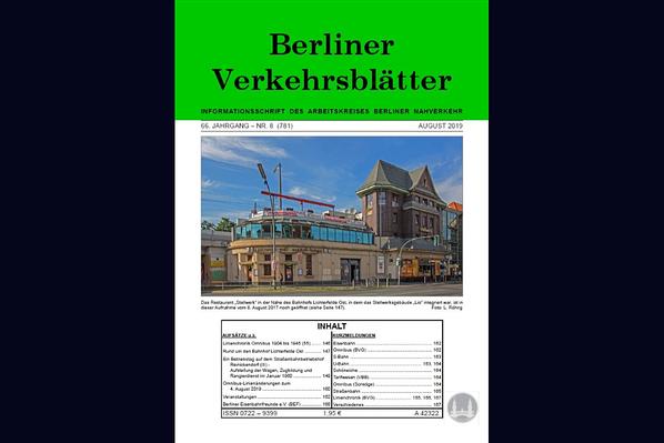 Stellwerk Lio in Berlin Lichterfelde - Ost. Artikel in den Berliner Verkehrsblättern.
